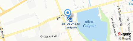 Шелковый путь-Казахстан ТОО на карте Алматы