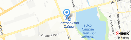 Белая Лилия на карте Алматы