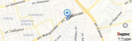 ХанбитНаноМедикал на карте Алматы