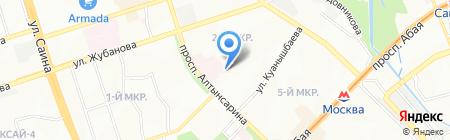 Городское патологоанатомическое бюро №2 на карте Алматы