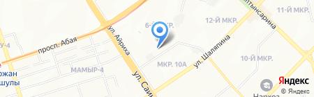 SVS торговая фирма на карте Алматы