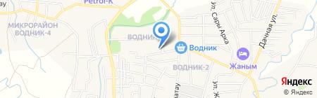 Цветочный магазин на ул. Водник 1 на карте Боралдая