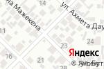 Схема проезда до компании Асет в Алматы