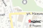 Схема проезда до компании Вкуснятина в Алматы