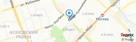 Ателье по ремонту одежды на карте Алматы