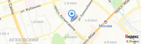 АКША-Ломбард ТОО на карте Алматы