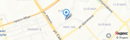 Алтынай продовольственный магазин на карте Алматы
