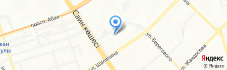Жанна продовольственный магазин на карте Алматы