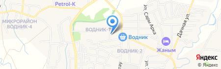 Илийское районное отделение на карте Боралдая