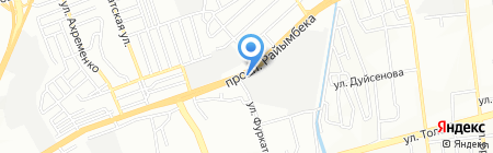 Елдана на карте Алматы