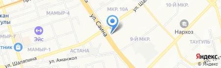 Тулпар 2 на карте Алматы