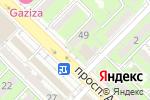 Схема проезда до компании Айнаш в Алматы