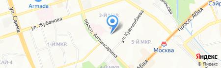 USTO на карте Алматы