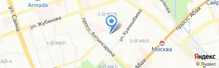 Almart Group на карте Алматы