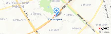 KIMEX сеть магазинов на карте Алматы