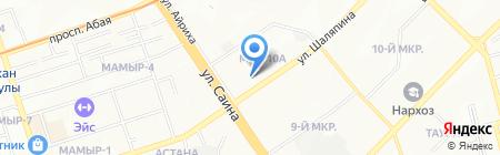 Colibri Style на карте Алматы