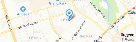 Омега Секьюрити-С на карте Алматы