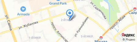 ТПЭП Тяжпромэлектропроект на карте Алматы