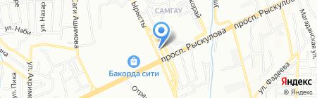 Чин-Чин на карте Алматы