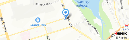 7 Небо на карте Алматы