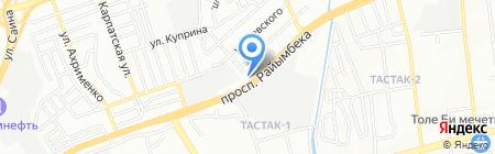SCT Service сеть пунктов замены масел на карте Алматы