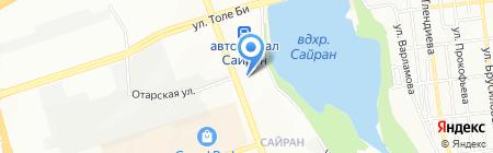 Отдел полиции на карте Алматы