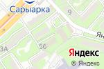 Схема проезда до компании TransLingvo в Алматы