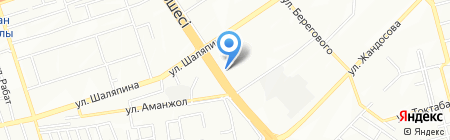 AlmaCity на карте Алматы