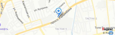 Яшар на карте Алматы