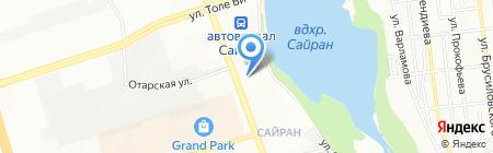 УВД Ауэзовского района г. Алматы на карте Алматы