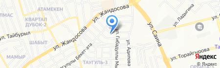 ZEBRA KZ на карте Алматы