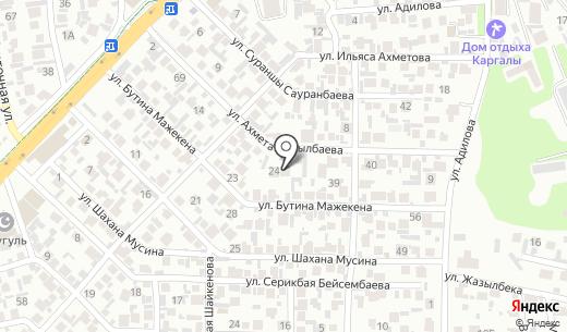 ZEBRA KZ. Схема проезда в Алматы