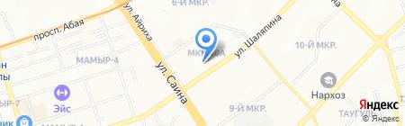 Актив Плюс Ломбард на карте Алматы