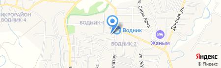 Ардак на карте Боралдая