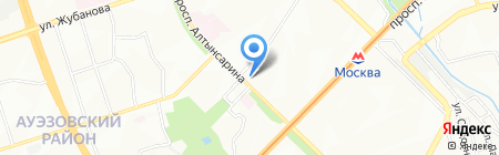 Для себя любимой на карте Алматы