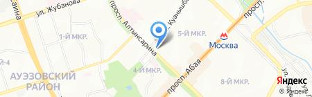 Donna на карте Алматы