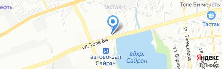 Нуга Мед на карте Алматы