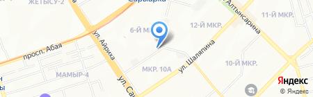 Мастер дверей на карте Алматы