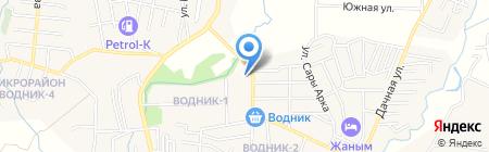 Радуга продовольственный магазин на карте Боралдая