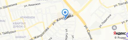 Производственный цех на карте Алматы