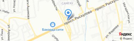 Гостевой двор на карте Алматы