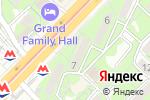 Схема проезда до компании Gloss в Алматы