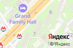 Схема проезда до компании PODARI.KZ в Алматы