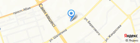 Акма на карте Алматы