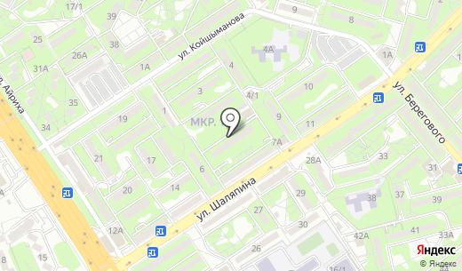 Акма. Схема проезда в Алматы