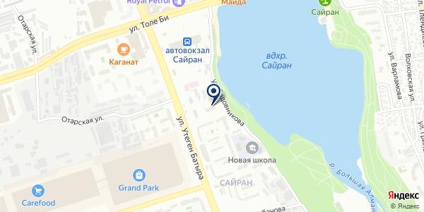 EasyTech на карте Алматы