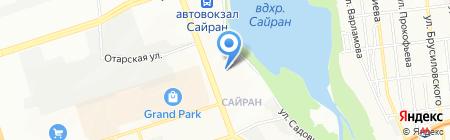 Геологический на карте Алматы