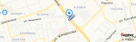 Vendor на карте Алматы