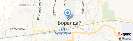 БайКаз Бетон на карте Боралдая