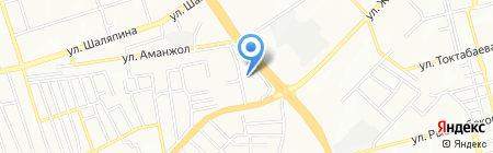 Адель на карте Алматы